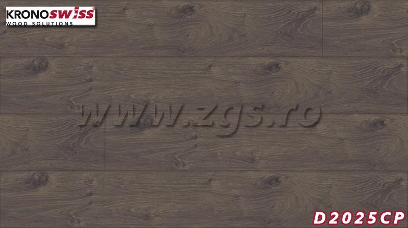 Parchet 12 mm KronoSwiss D2025CP-Stejar Inchis